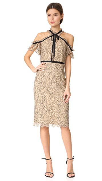 Shoshanna Aleah Midi Dress