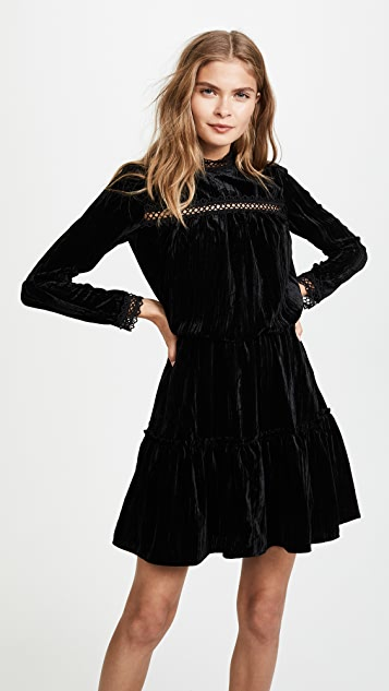 Shoshanna Primrose Velvet Dress
