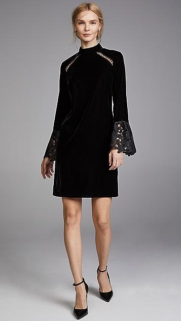 Shoshanna Oliver Velvet Dress