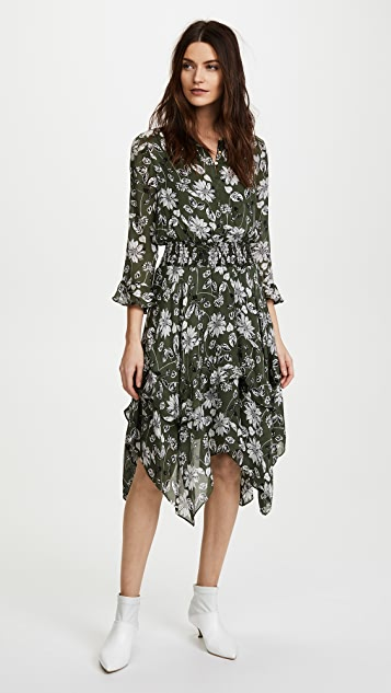 Shoshanna Koko Dress - Fern Multi