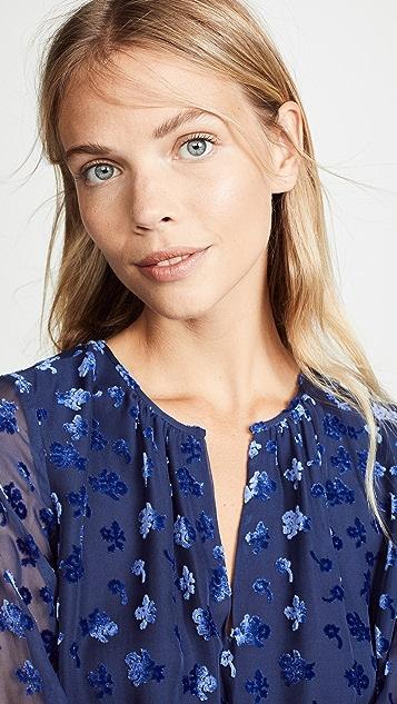 Shoshanna Velvet Dress