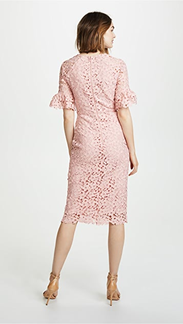 Shoshanna Flare Sleeve Dress