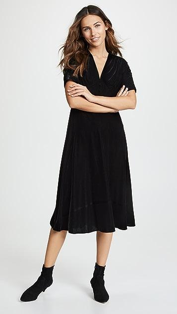Shoshanna Lakewood Velvet Dress