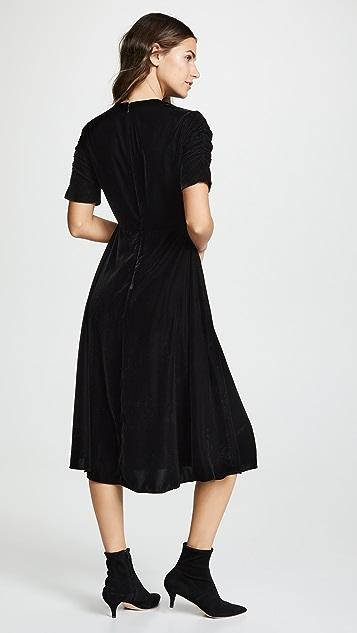 Shoshanna Бархатное платье Lakewood