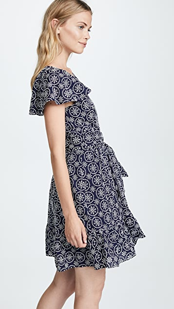 Shoshanna Eyelet Lace Dress