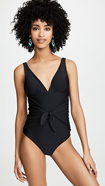 Shoshanna Black One Piece - Black