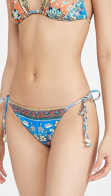 Shoshanna Clean Triangle Bikini Bottoms