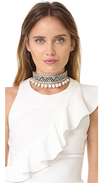 Shourouk Bastet Large Choker Necklace