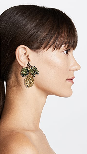 Shourouk Limone Earrings