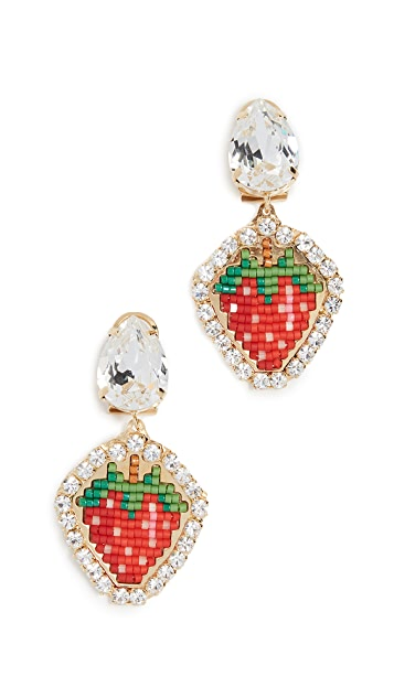 Shourouk Lolita Bead Earrings