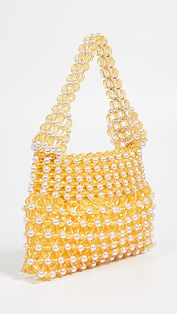 Shrimps Quinn Beaded Shoulder Bag
