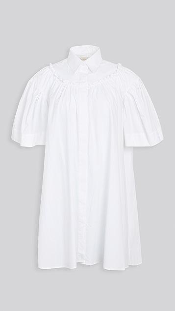 SHUSHU/TONG 衬衣连衣裙