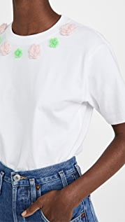 SHUSHU/TONG 花朵 T 恤 3