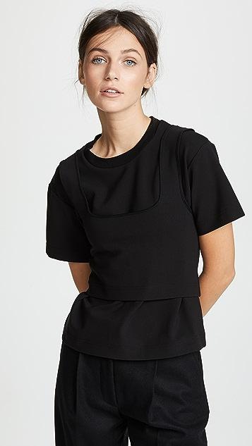 SHUSHU/TONG 2 Layer T-shirt