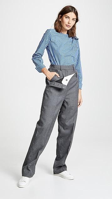 SHUSHU/TONG Double Layer Trousers