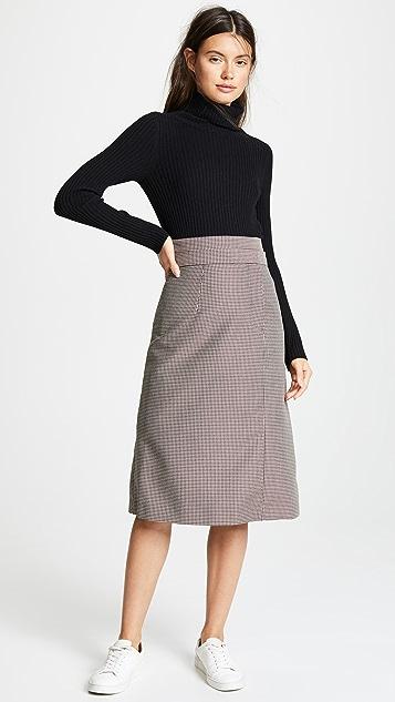 SHUSHU/TONG Double Layer Skirt