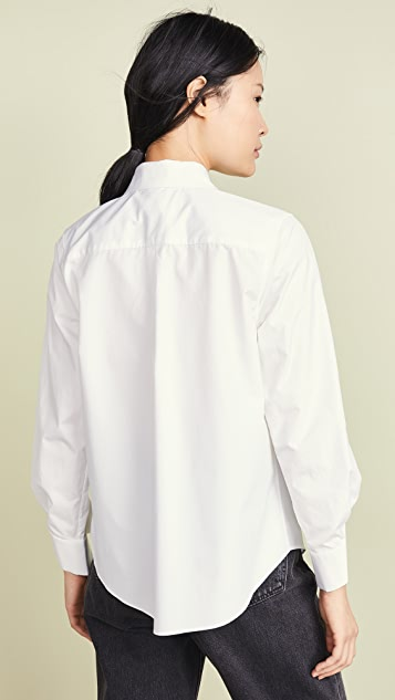 SHUSHU/TONG Twisted Cuff Shirt