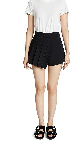 SHUSHU/TONG Pleated Shorts