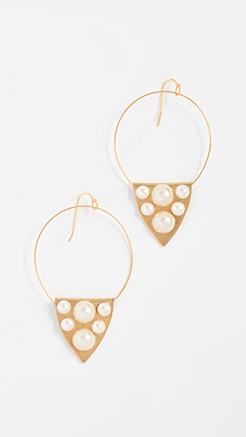 Sandy Hyun Zoe Earrings