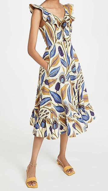 SIKA V Neck Dress