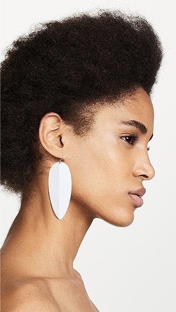 Simon Miller Medium Pointed Shield Earrings