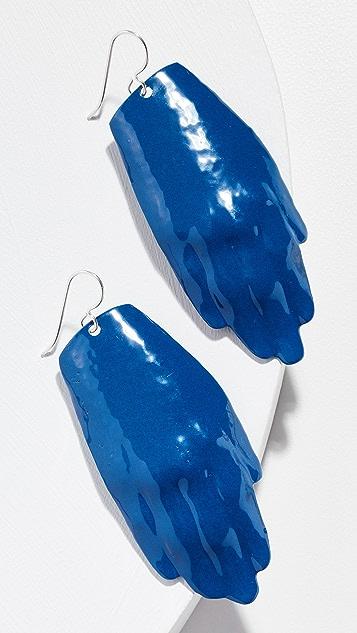 Simon Miller Hand Earrings