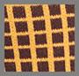 棕黄色格纹