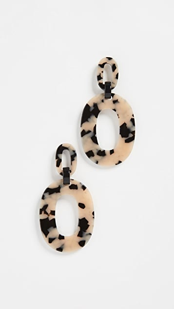 Simon Miller S750 Oval Earrings