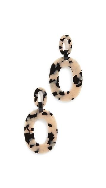 Simon Miller S750 Oval Earrings