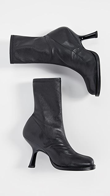 Simon Miller Stretch Tee Heel Booties
