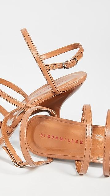 Simon Miller Обувь Tee на каблуках с ремешками