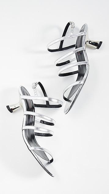 Simon Miller Туфли на низком каблуке с ремешками