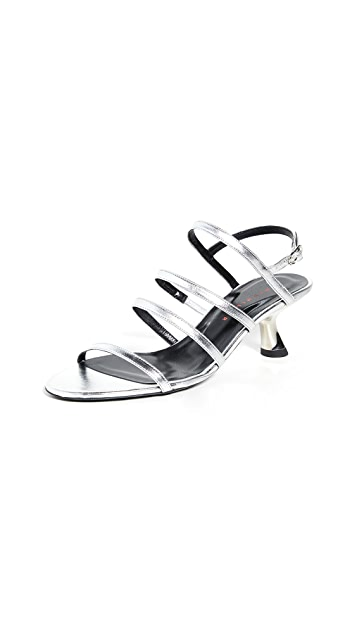 Simon Miller Strappy Low Tee Heels