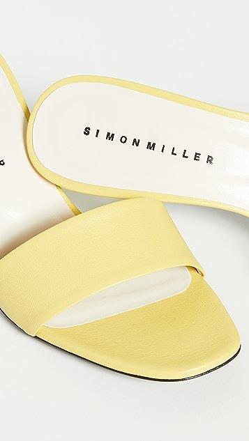 Simon Miller Solo 高跟凉拖鞋
