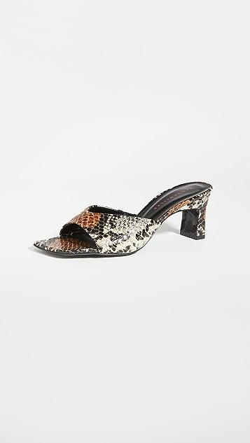 Simon Miller 锤制鞋跟凉鞋