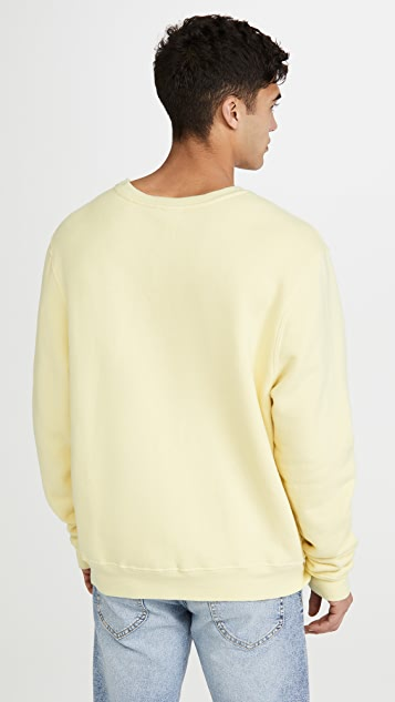 Simon Miller Long Sleeve Crew Neck Sweatshirt