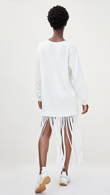 Simon Miller Evita Fringe Sweater Dress