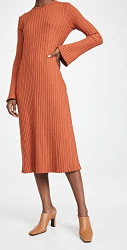 Simon Miller - Rib Wells Long Sleeve Dress