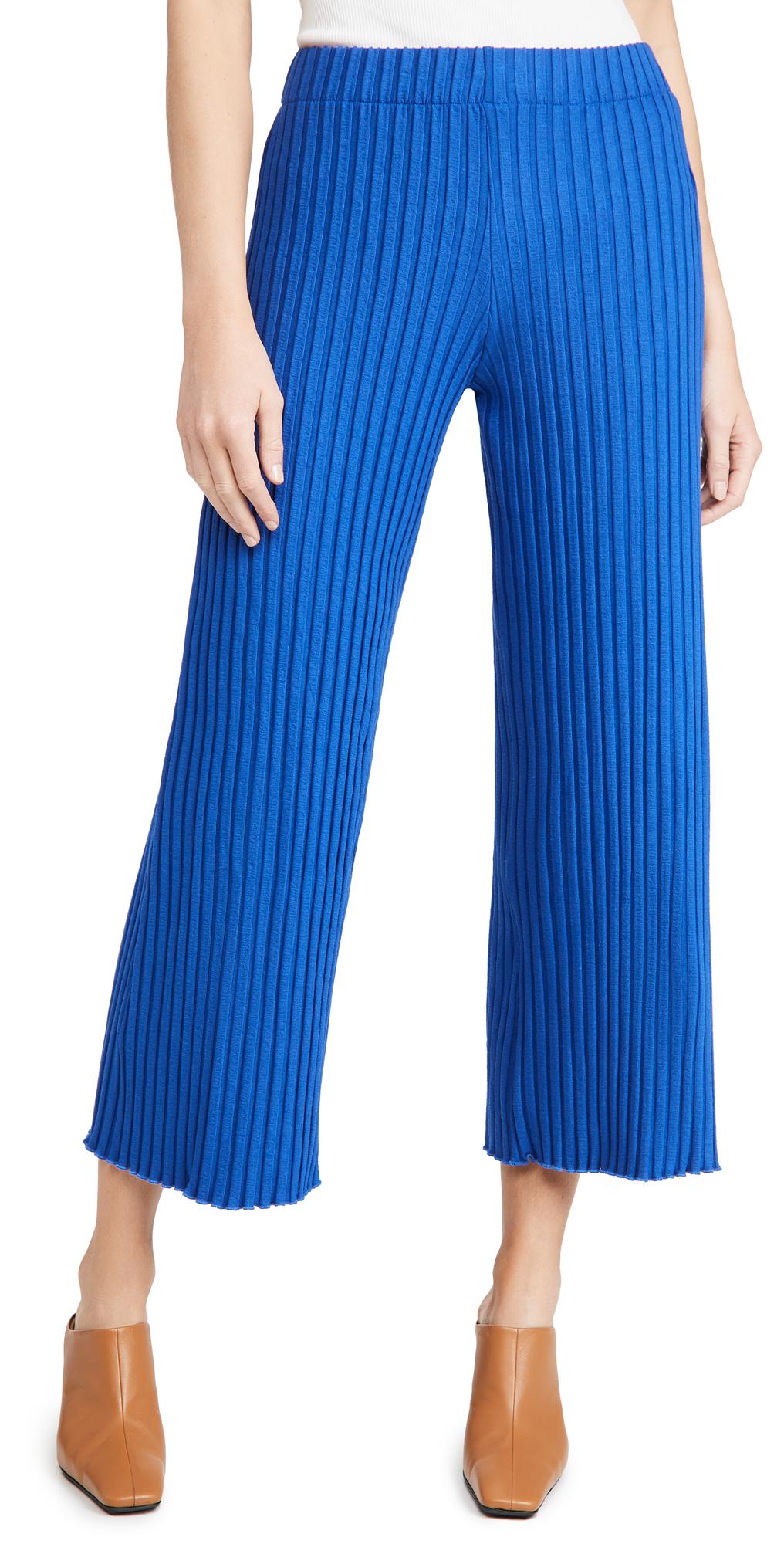Simon Miller Rib Alder Wide Crop Pants