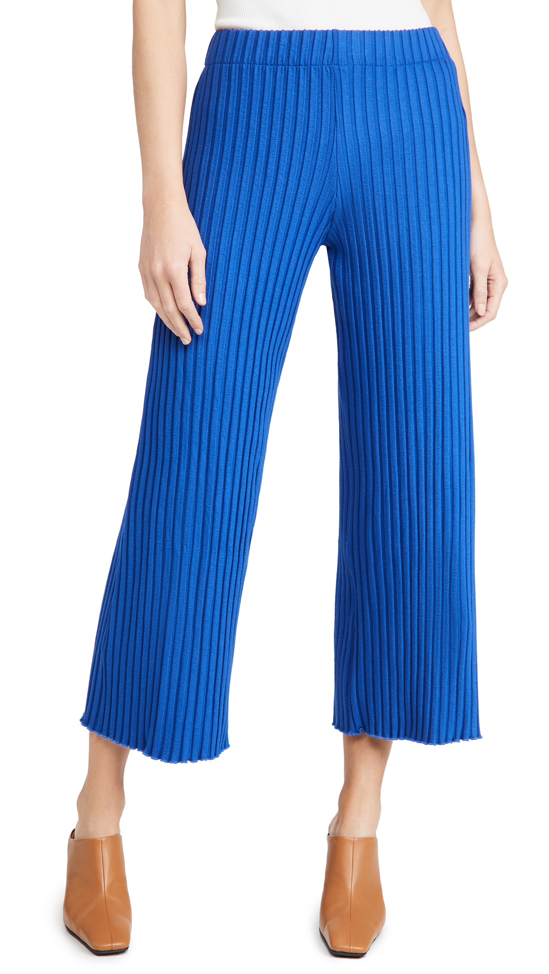 Simon Miller Rib Alder Wide Crop Pants