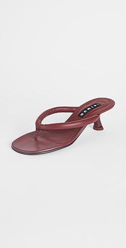 Simon Miller - Vegan Beep 夹趾凉鞋
