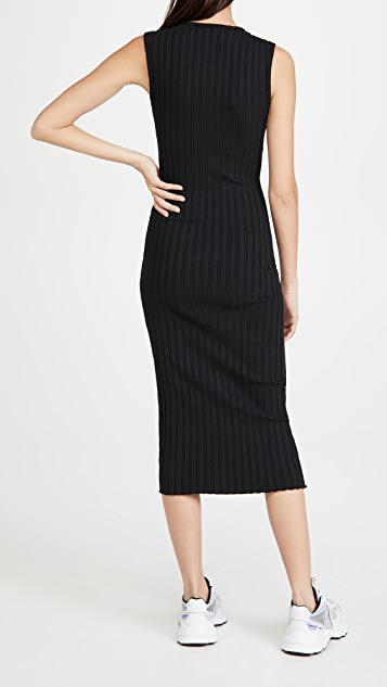 Simon Miller Amos Square Neck Sleeveless Dress