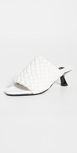 Simon Miller - Vegan Woven Tee Heel Sandals