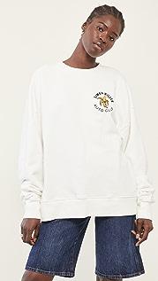 Simon Miller Rista Oversized Crew Sweatshirt