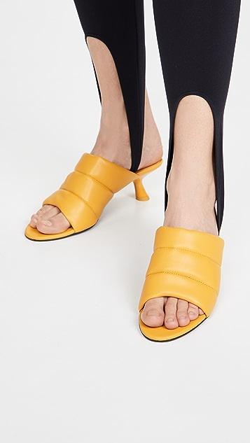 Simon Miller Vegan Tee Heel Sandals
