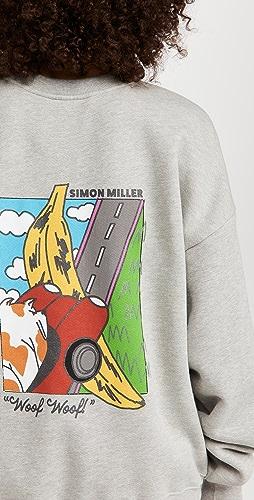 Simon Miller - Rista Oversized Sweatshirt