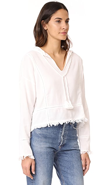 Sincerely Jules Lightweight Hoodie Top