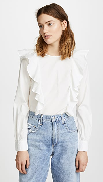 Sincerely Jules Colette Ruffle Top