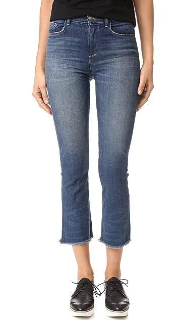 Siwy Emmanuelle Crop Flare Jeans