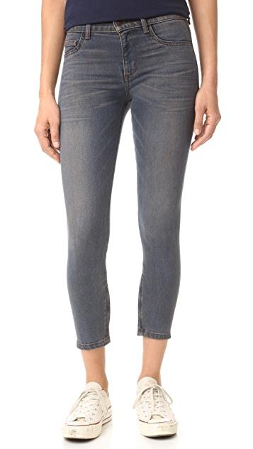 Siwy Iman Seamless Ankle Zip Skinny Jeans